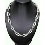 Ocelový náhrdelník - Shiny Ellipses I.