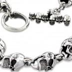 Ocelový náhrdelník - Edward The Skull