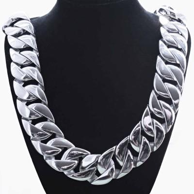 ocelový náhrdelník - massive panzer 3 cm