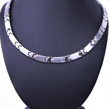 Ocelový náhrdelník - Plochý / Matt - Shiny (2020)