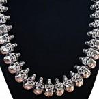 Ocelový náhrdelník- Lebky / Morbid Skulls (015)