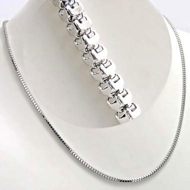 Ocelový řetízek - Hranol / Prism  2 mm (7271)
