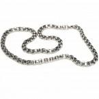 Ocelový náhrdelník - Rings / Shiny / 7mm