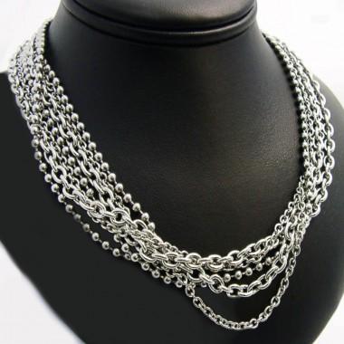 Ocelový náhrdelník EXEED - Chains (230)
