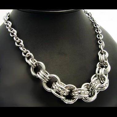 Ocelový náhrdelník EXEED 372.