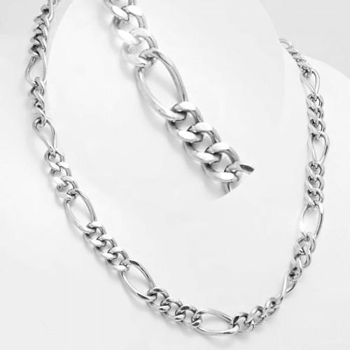 f4d4e0dbb Ocelový náhrdelník EXEED - Figaro 1,1 cm - 60 cm (1149)