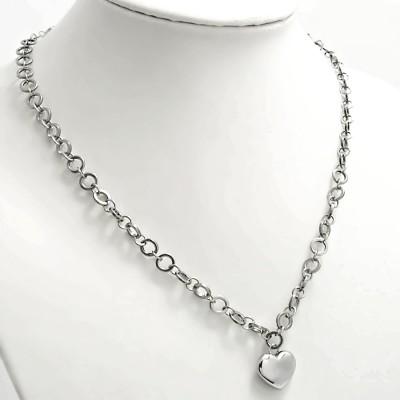 Ocelový náhrdelník EXEED - Srdce / Heart (7378)