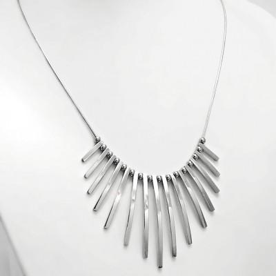 Ocelový Náhrdelník - Elegant / Shiny (7896)