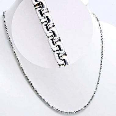 Ocelový řetízek - Leštěné Kroužky 2 mm / Rings (7604)