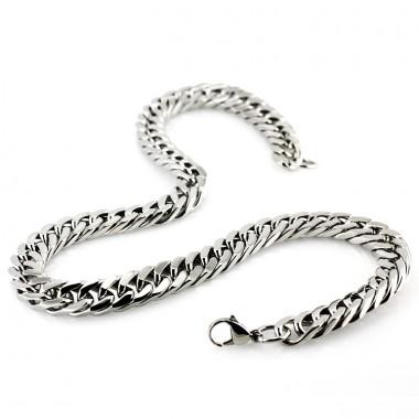 Ocelový náhrdelník - Řetěz/Chain (5462)
