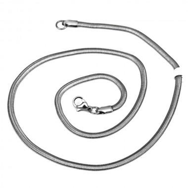Ocelový řetízek - Hádě / Snake 3 mm (45cm)