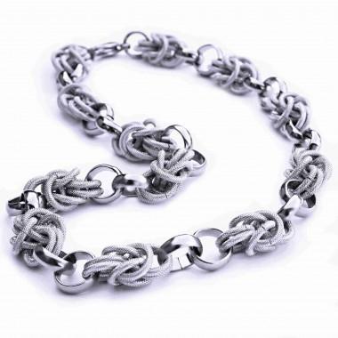 Ocelový náhrdelník - Elegant Queen / Shiny (5680)