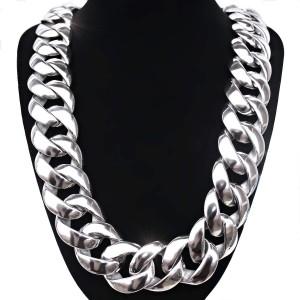 ocelový náhrdelník - massive panzer 3 cm  (2016)