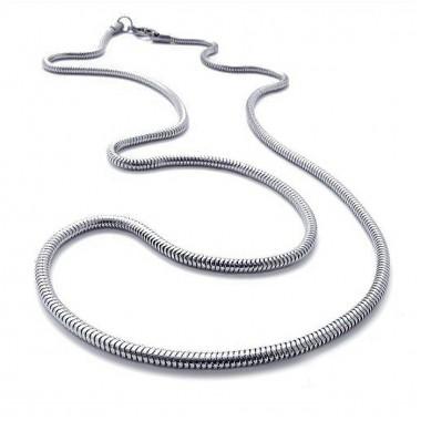Ocelový řetízek - Hádě 3 mm / snake (7900)
