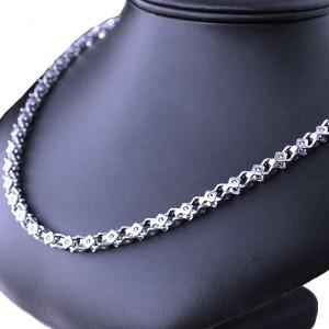 Ocelový Náhrdelník - Hranol / Prism (8175)