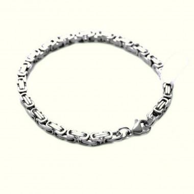 Ocelový náramek - King´s Chain (5mm - 22cm)