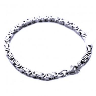 Ocelový náramek - King´s Chain 5 mm - 21,5 cm