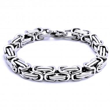 Ocelový náramek - Královská vazba / King´s Chain 01