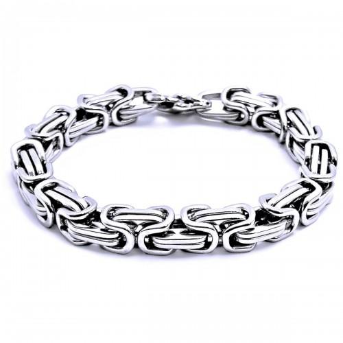 Ocelový náramek - Královská vazba   King´s Chain 01 76701ca30ca