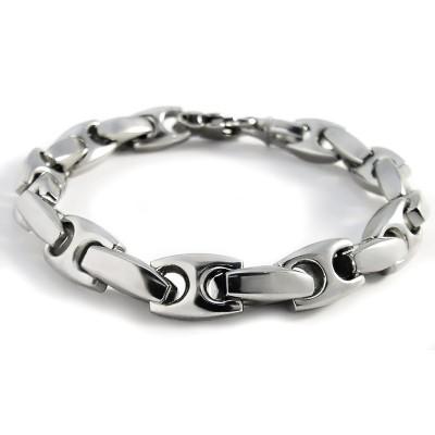 Ocelový náramek Andre Nicol - Masivní / Massive Chain (4150)