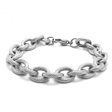 Ocelový náramek EXEED - Masivní řetěz / Massive chain (676)