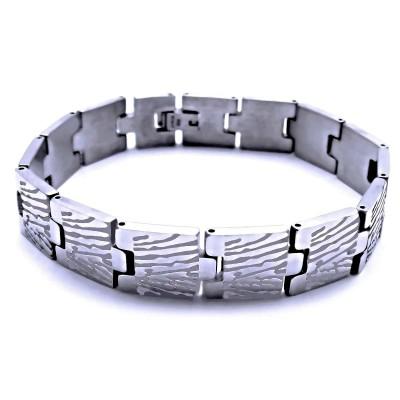 Ocelový náramek - Exeed / Leštěný (41422)