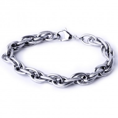 Ocelový náramek Exeed - Řetěz Chain (1373D)