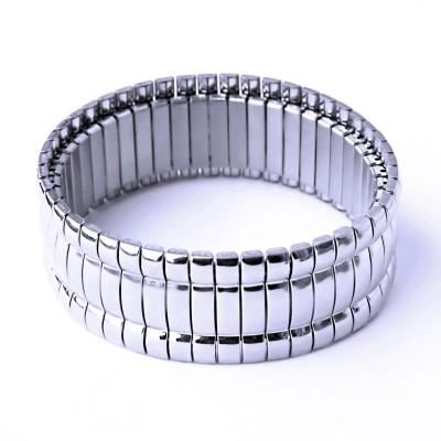 Ocelový náramek - Pružný / Shiny (898-16b)