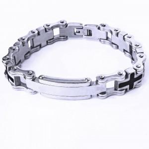 Ocelový náramek - Náramek s Destičkou / R - Chain (8162)