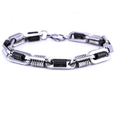 Ocelový Náramek - Řetěz / Chain (7345)