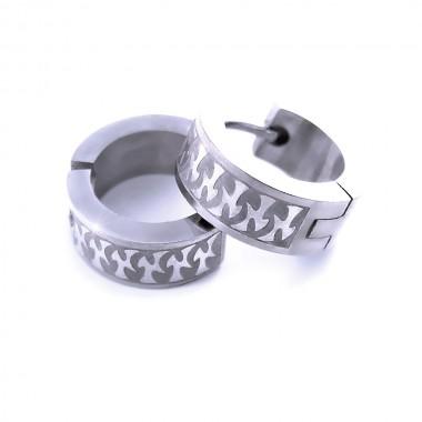 Ocelové náušnice EXEED - Circles (1,4cm/2840)
