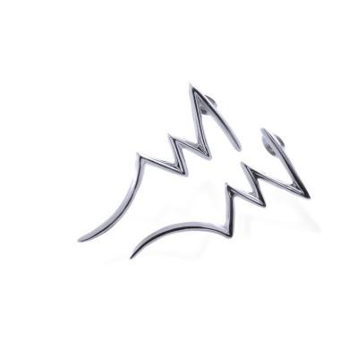 Ocelové Náušnice - Blesky / Lesk / Lightning (2859)