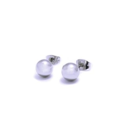 Ocelové Náušnice - pecky 3 mm (6190)