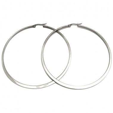 Ocelové náušnice EXEED - Circles 7 cm (3987/7)