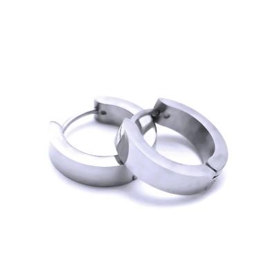 Ocelové náušnice EXEED - Kroužky / Leštěné 1,6 cm (40214)
