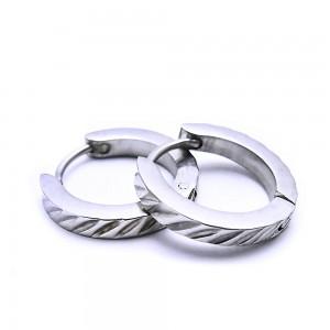 Ocelové náušnice EXEED - Kroužky / Circle / shiny 1,6 cm (6979)