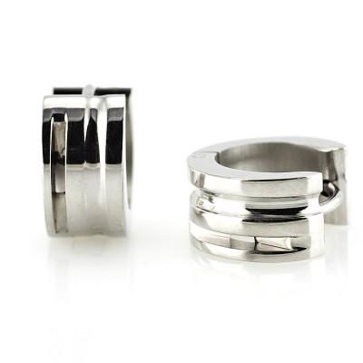 Ocelové náušnice - Circle (1,4 cm/6028)