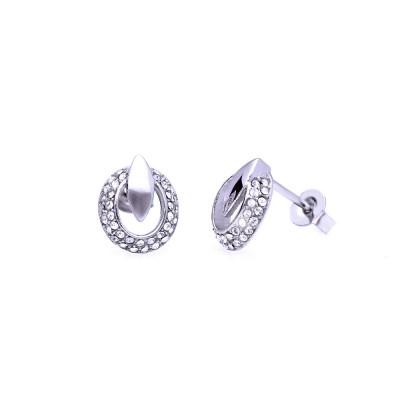 Ocelové Náušnice - Prim / Preciosa Crystals (8050)