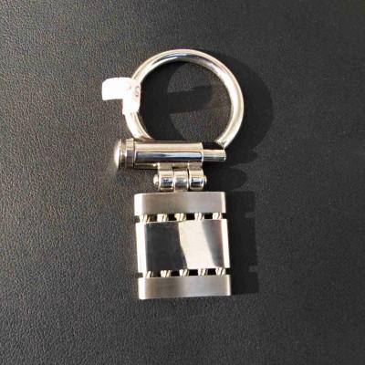 Ocelová klíčenka T.03 - Strings