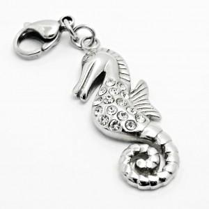 Ocelový Přívěsek Žužu - Mořský koník / Seahorse (3592)