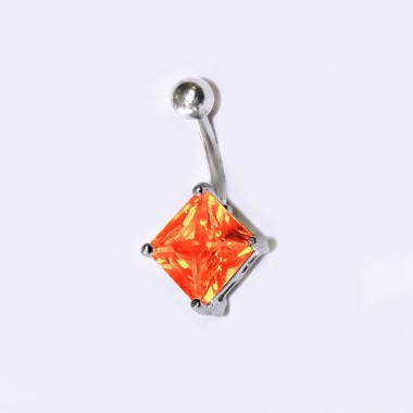 Pupíkovka - Orange Square 001 (1,6 x 12mm)