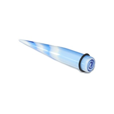 Roztahovák - Modrý / Bílý 8mm)