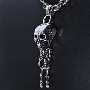 Ocelový přívěšek - Ach. Mrtvý Terorista / Dead Terr.Skeleton 02