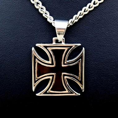 Ocelový přívěsek - Iron Cross 03