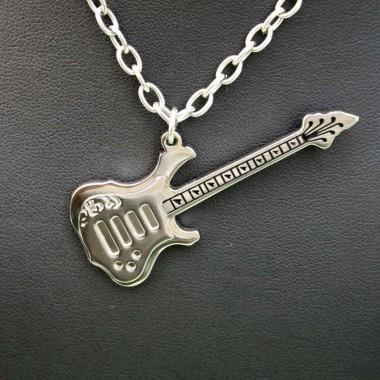 Ocelový přívěsek - Guitar I.