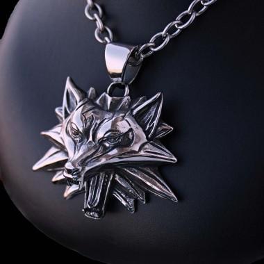 Ocelový Přívěsek - Vlčí amulet / Wolf Amulet (018)