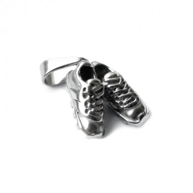 Ocelový přívěsek - Football Boots / Kopačky II.