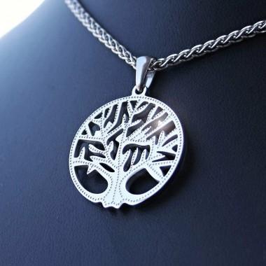 Ocelový přívěsek - Strom Života II  / Tree of Life (017)