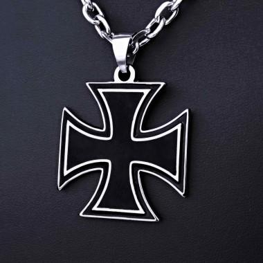 Ocelový přívěsek - Iron Cross (019)