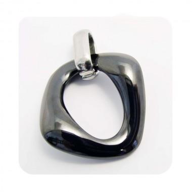Ocelový přívěsek EXEED - Ceramic Black (5036)